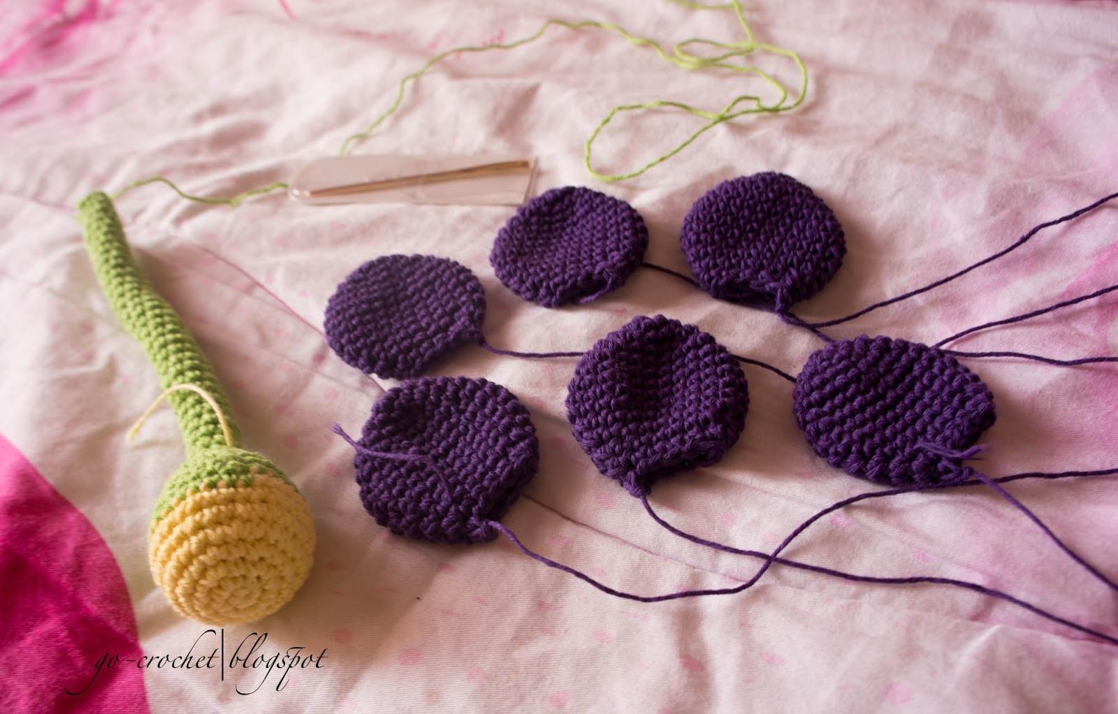 Crochet Amigurumi Flowers : Go Crochet!: Flower Amigurumi