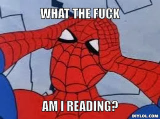 photo comment - What the fu*k am I reading - Spiderman