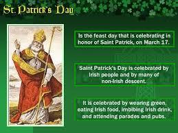Feast of Saint Patrick's Day