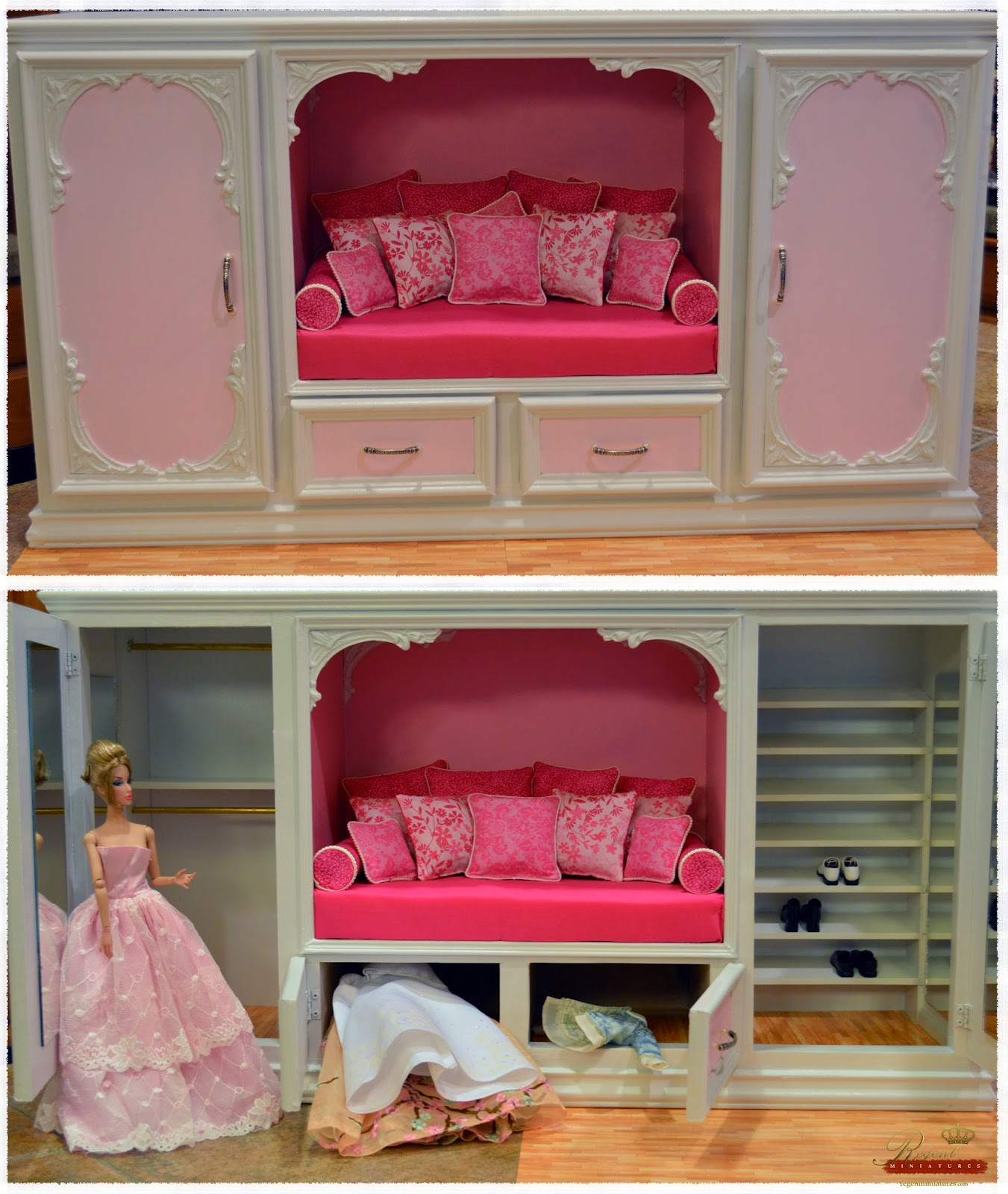 Dream Closet For Barbie, Fashion Royalty Or Hot Toy Figure!