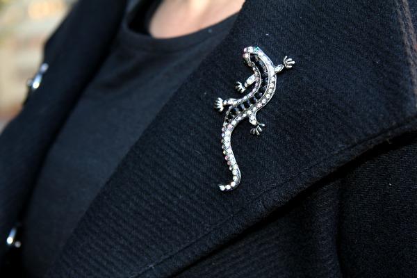 rhinestone jeweled lizard