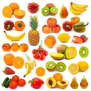 Fotos de frutas en fondo blanco