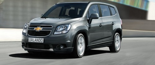 Daftar Harga Mobil Chevrolet Seri Chevrolet Orlando Terbaru