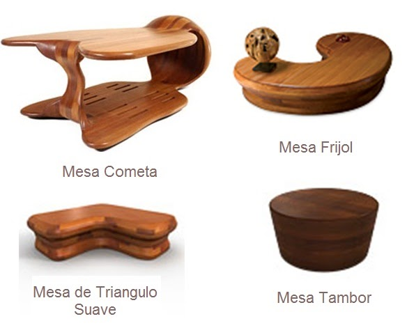 Mesas y sillas mesas centro dise os en madera victor klassen for Disenos de mesas de madera