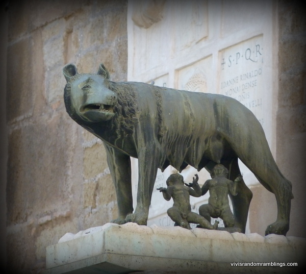 Capitoline Wolf, Rome, Italy