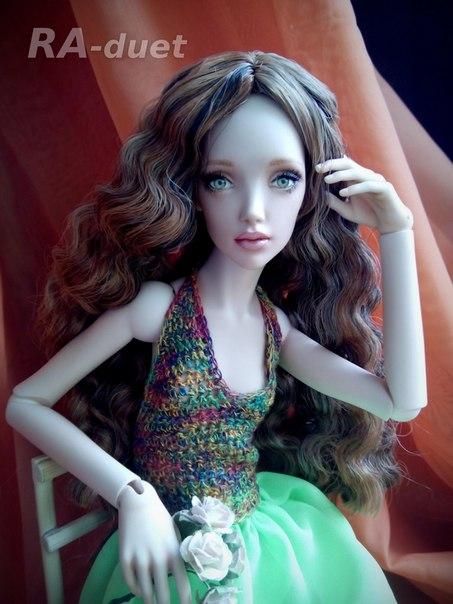 шарнирная кукла Милашка от RA-duet