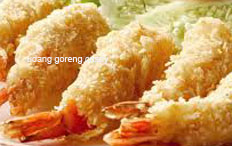 resep masakan indonesia udang goreng crispy spesial enak, renyah, gurih