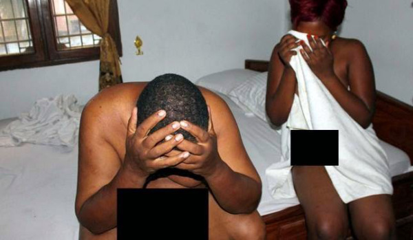 Harare Woman Caught With Another Man 2 Days After Wedding Day