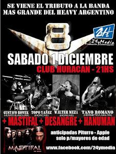 TRIBUTO V8 + MASTIFAL!! SABADO 1 DICIEMBRE 2012