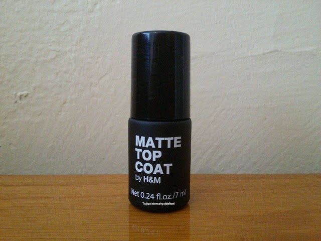 H&M Matte Top Coat