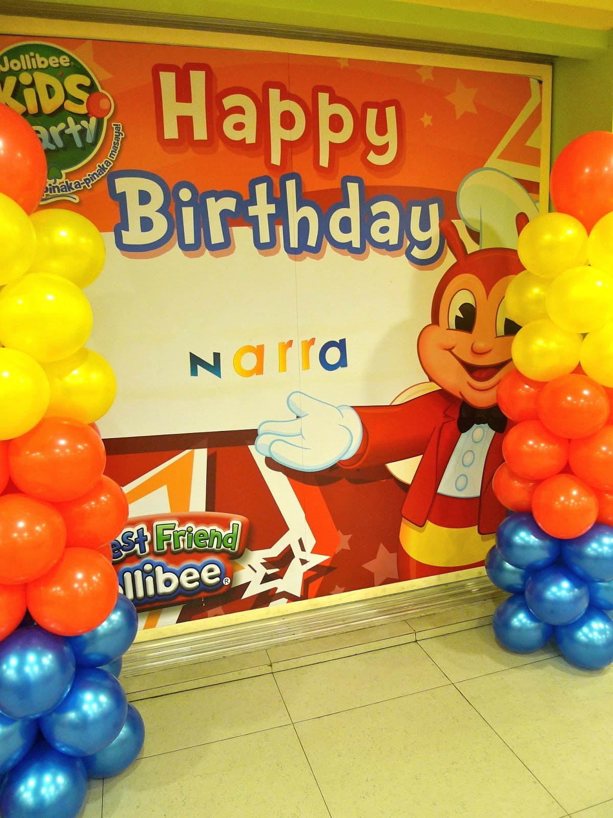 Nikkis nurturance the joys of a jollibee party the joys of a jollibee party stopboris Images