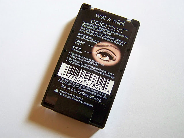 Eye shadow diagram