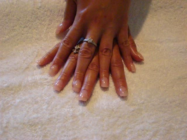 Summer-pastel-soft-baby-pink-tips-natural-acrylics