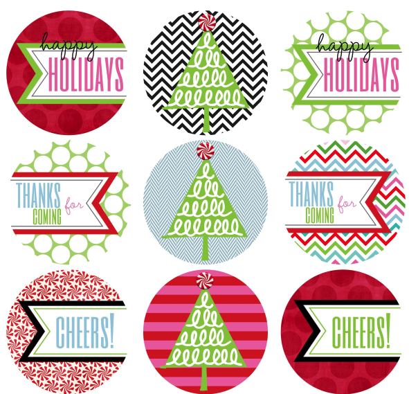 Christmas gift tags free printables featured on design dazzle