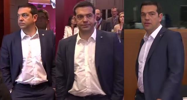 Το success story της οικονομικής διαπραγμάτευσης αποτυπωμένο στο πρόσωπο του Τσίπρα (Βίντεο)
