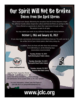 Voices from the Storms flyer