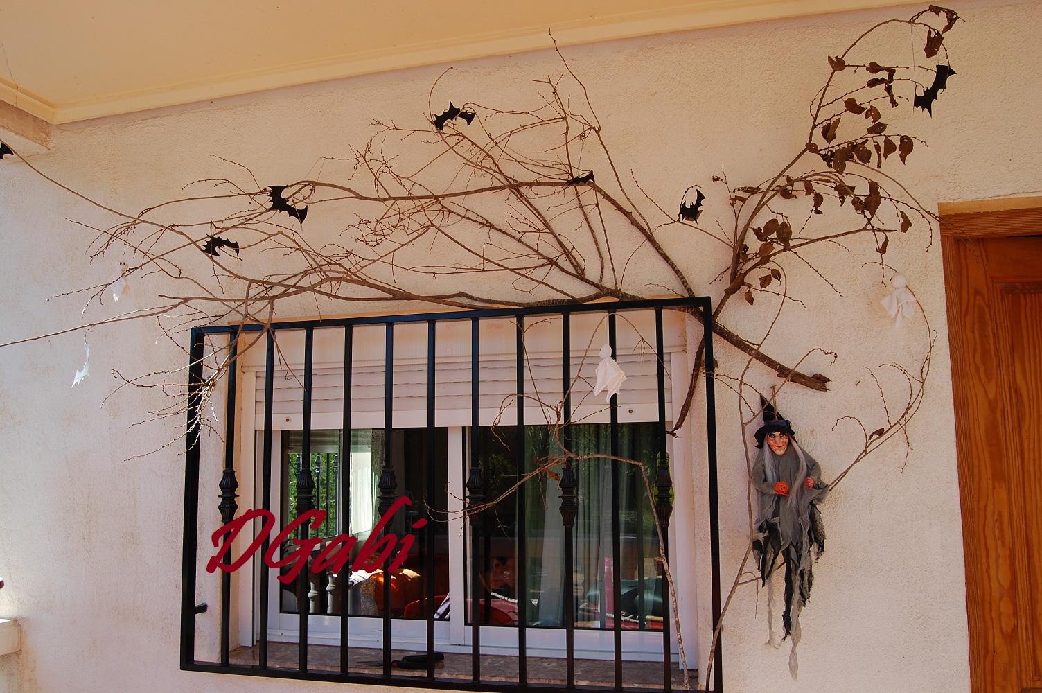 Decoracion ventanas halloween - Decoracion halloween para casa ...