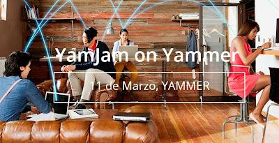 Evento YamJam sobre Yammer