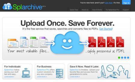 Convertir archivos a Pdf y Almacenarlos