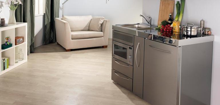 Mini cocinas compactas para peque os espacios cocinas for Cocinas para espacios pequenos