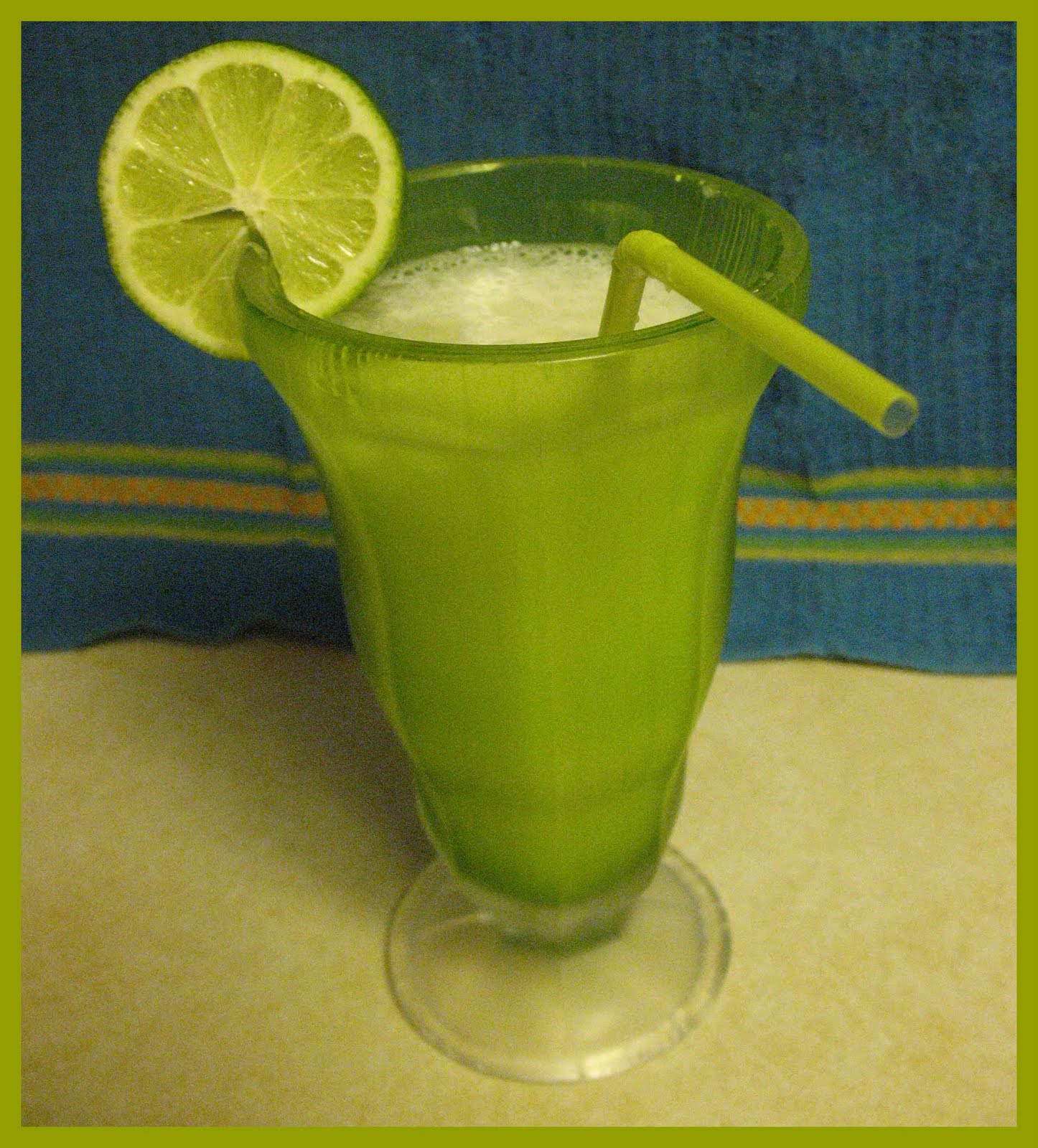Brazilian Lemonade (with Limes And Condensed Milk)