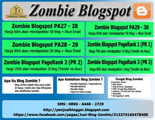Zombie Blogspot