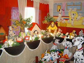 Decoracion de Fiestas Infantiles con Dalmatas, parte 2