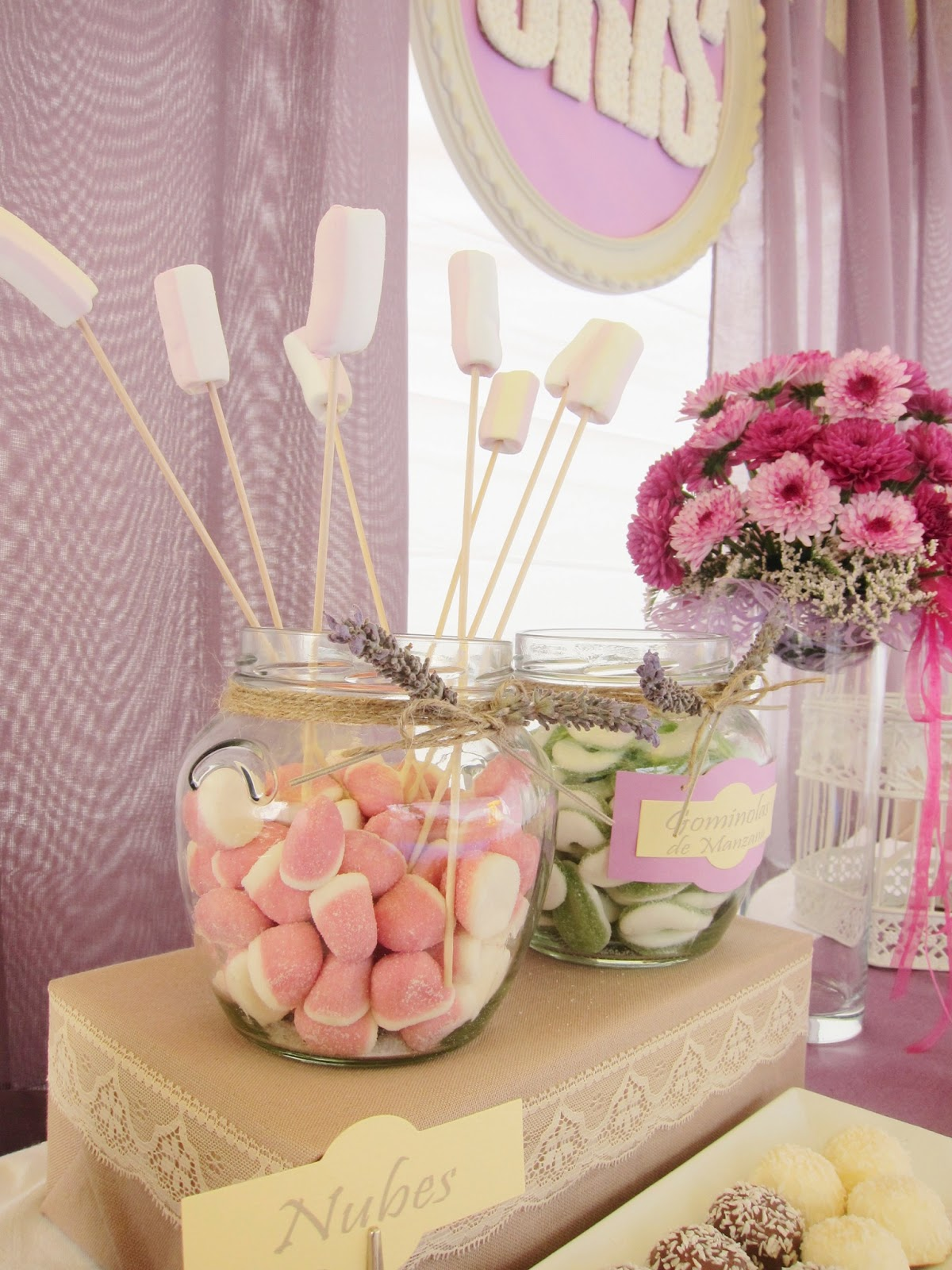 Samikay estudio creativo como decorar un candy bar - Como decorar un cabecero ...