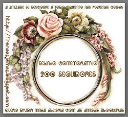SELINHO COMEMORATIVO 200 SEGUIDORES