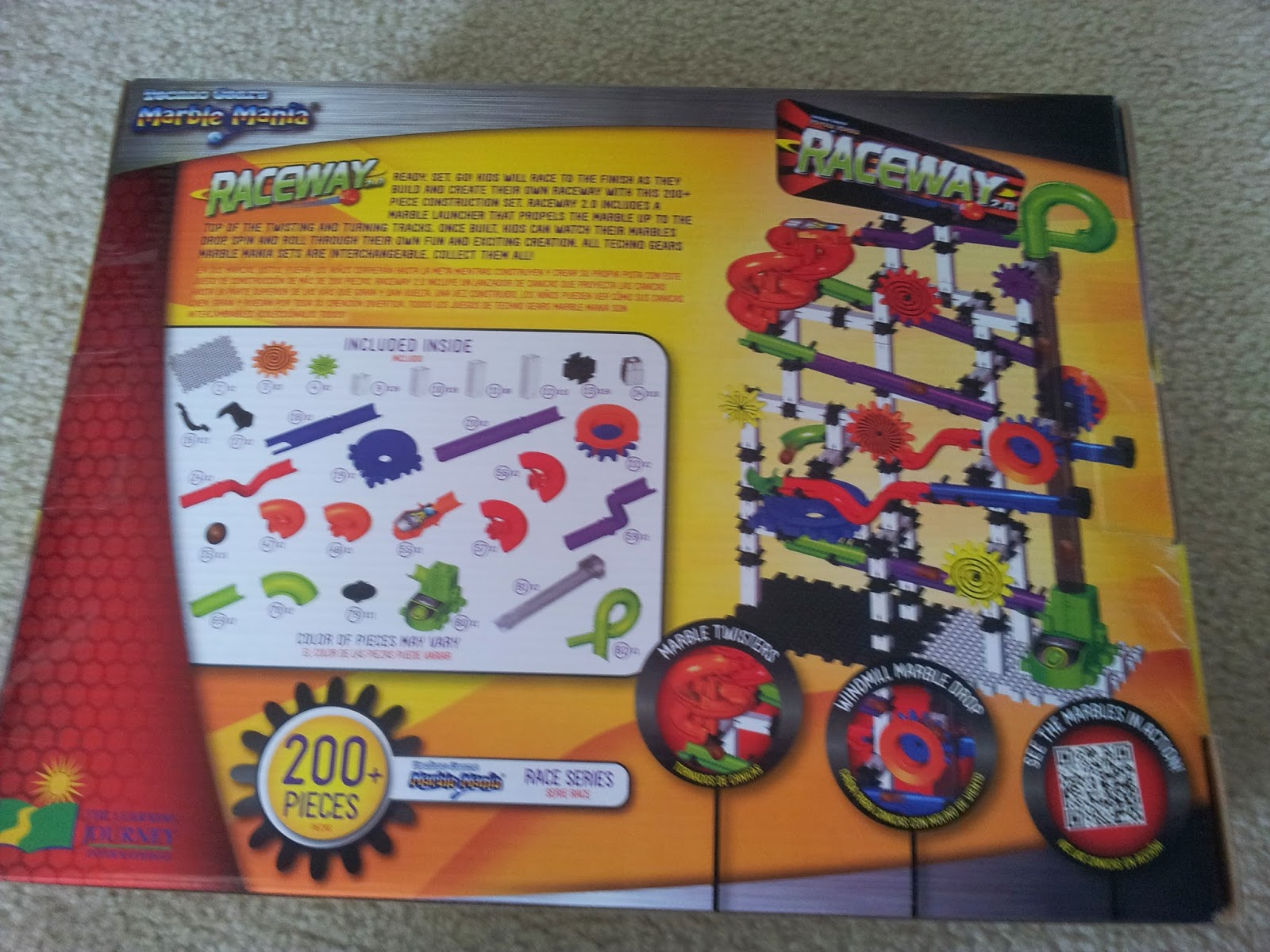 techno gears marble mania mega instruction manual