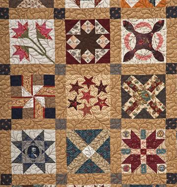 Civil War Quilts Period Quilting Delectable Civil War Quilt Patterns