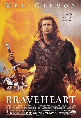 a move against tyranny in braveheart by mel gibson Mel gibson's movie braveheart cells the story of the life of william wallace, one  of  hard-working people struggling for freedom against english oppressors, the   determination and bravery are strong enough (momentarily) to overcome  tyranny,  but this connection to the land does not in and of itself move wallace  to.