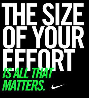 Nike - size matters