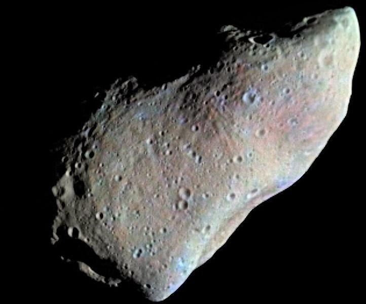 Asteroide Lemaitre / Lemaître asteroid