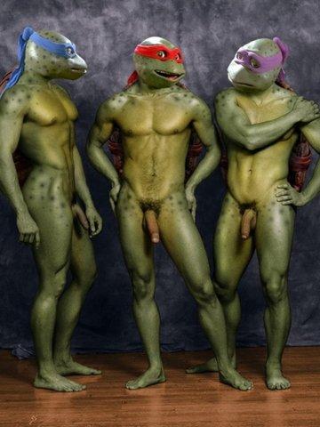 Hot halloween naked men