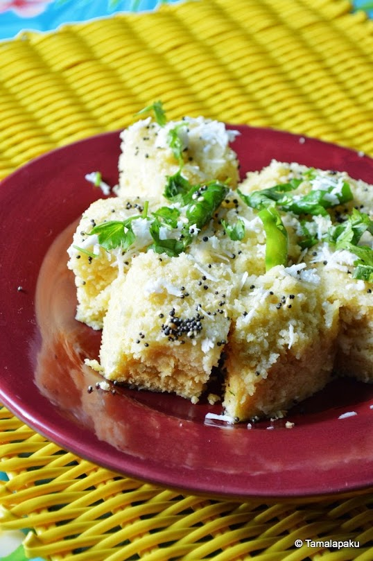 Dhokla In A Microwave