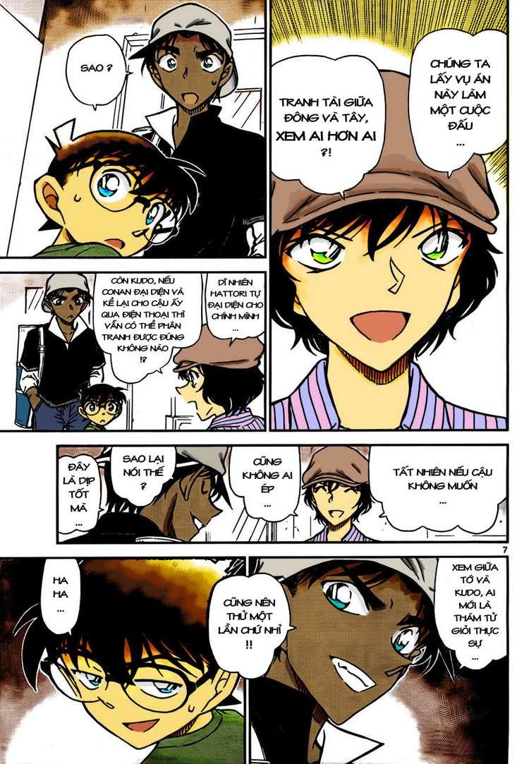 Detective Conan - Thám Tử Lừng Danh Conan chap 778 page 9 - IZTruyenTranh.com