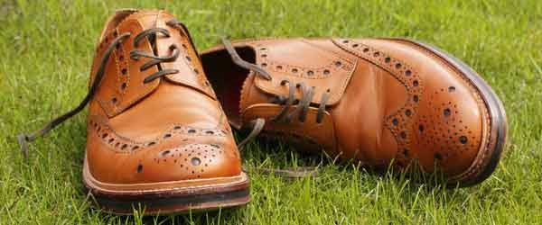 My leather brogues