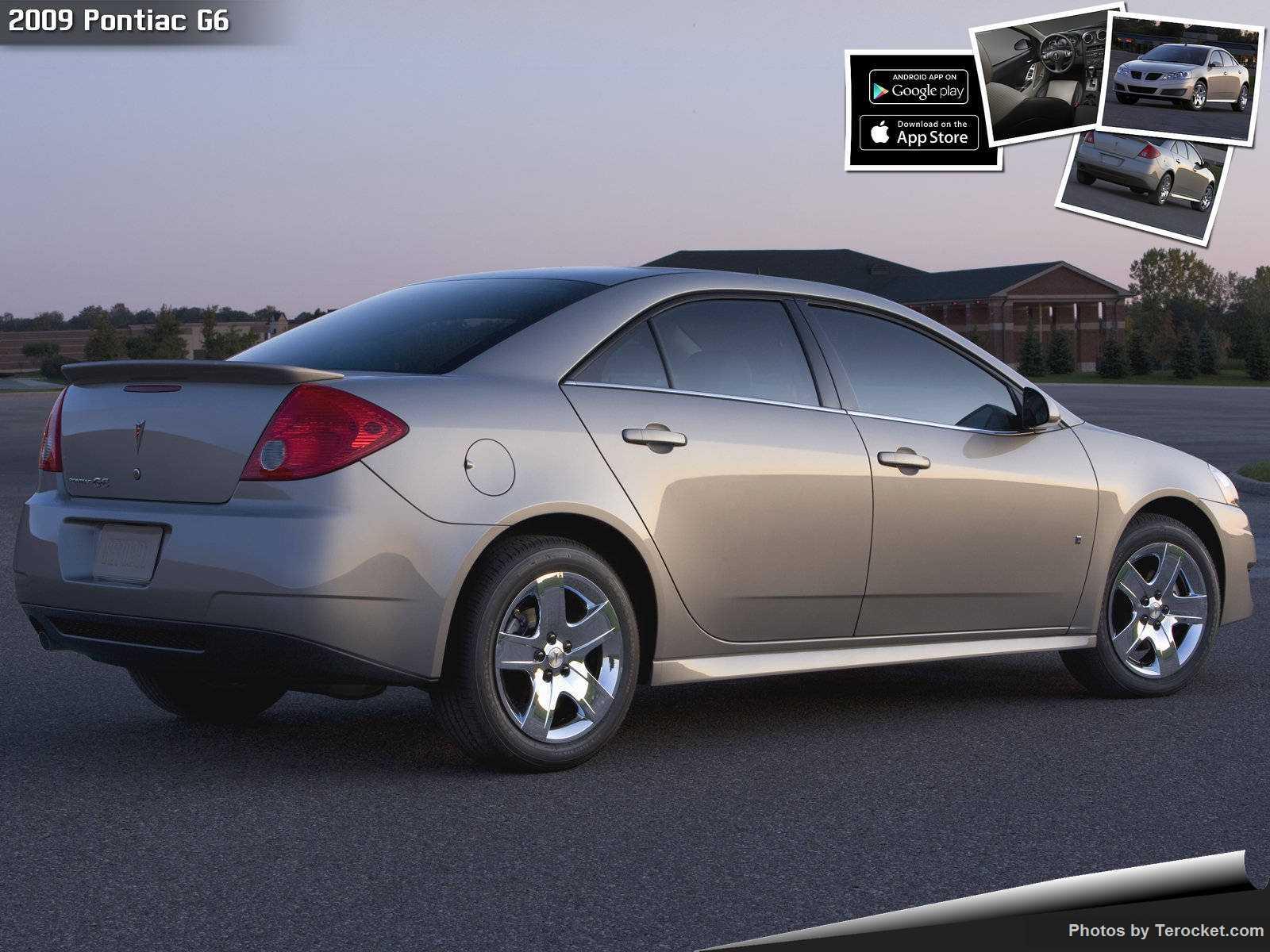 Hình ảnh xe ô tô Pontiac G6 2009 & nội ngoại thất