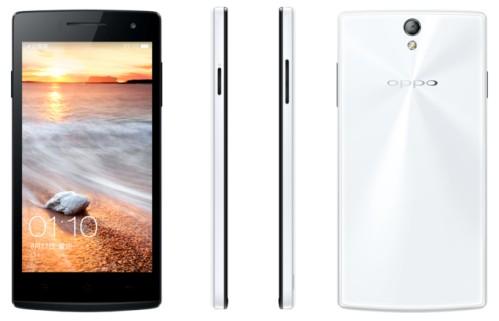 Nuovo smartphone sottile di Oppo che potrebbe essere la versione mini di Oppo Find 7
