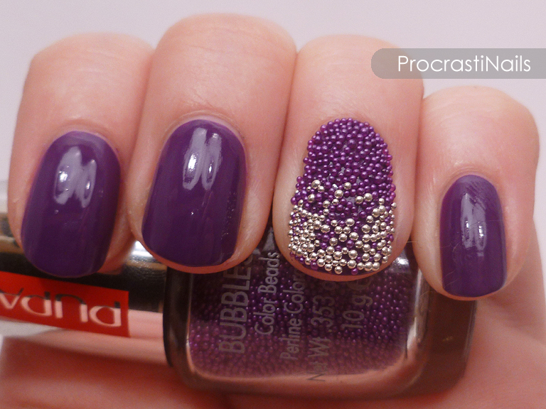 Microbead Gradient with PUPA Milano and Essence! - ProcrastiNails