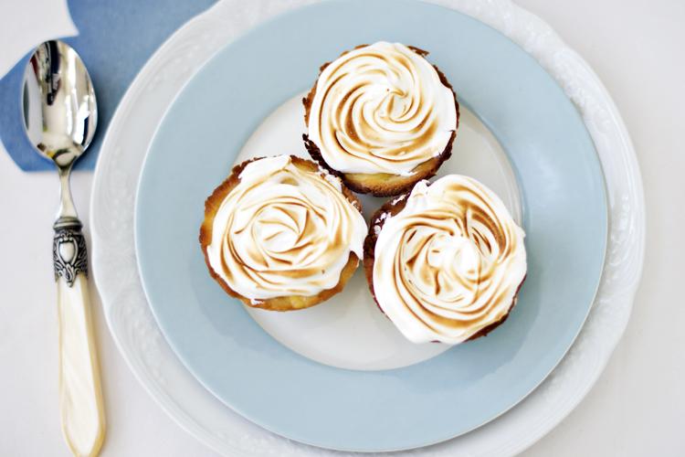 receta de patesl de limón y merengue