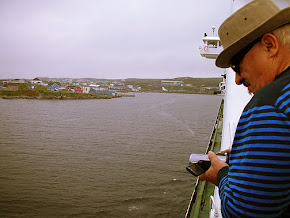 Peter approaching Newfoundland, Canada