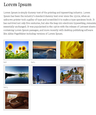 galerías de fotos gratis