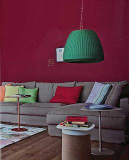 scelta colore pareti
