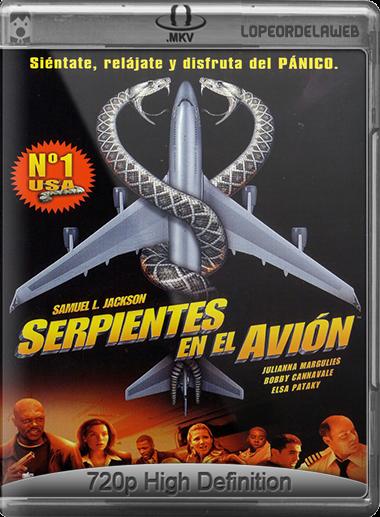 Serpientes a bordo (2006) BRRip 720p Dual Latino