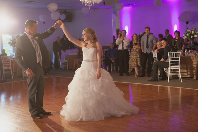 Father/Daughter Dance - Winnipeg Wedding Inspiration.