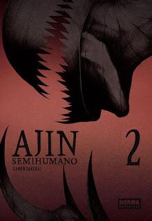"""Manga: Reseña de """"AJIN / Semihumano"""" (亜人) vol. #2 de Gamon Sakurai [Norma Editorial]."""