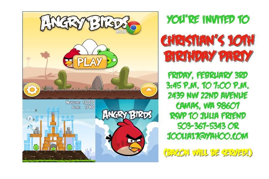 Life\'s Simple Pleasures: Angry Birds Birthday Party
