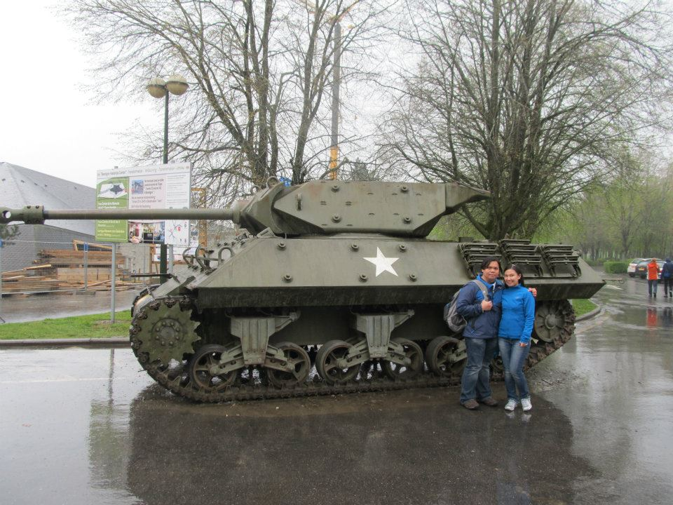 Mardasson Memorial Bastogne Ardennes Belgium